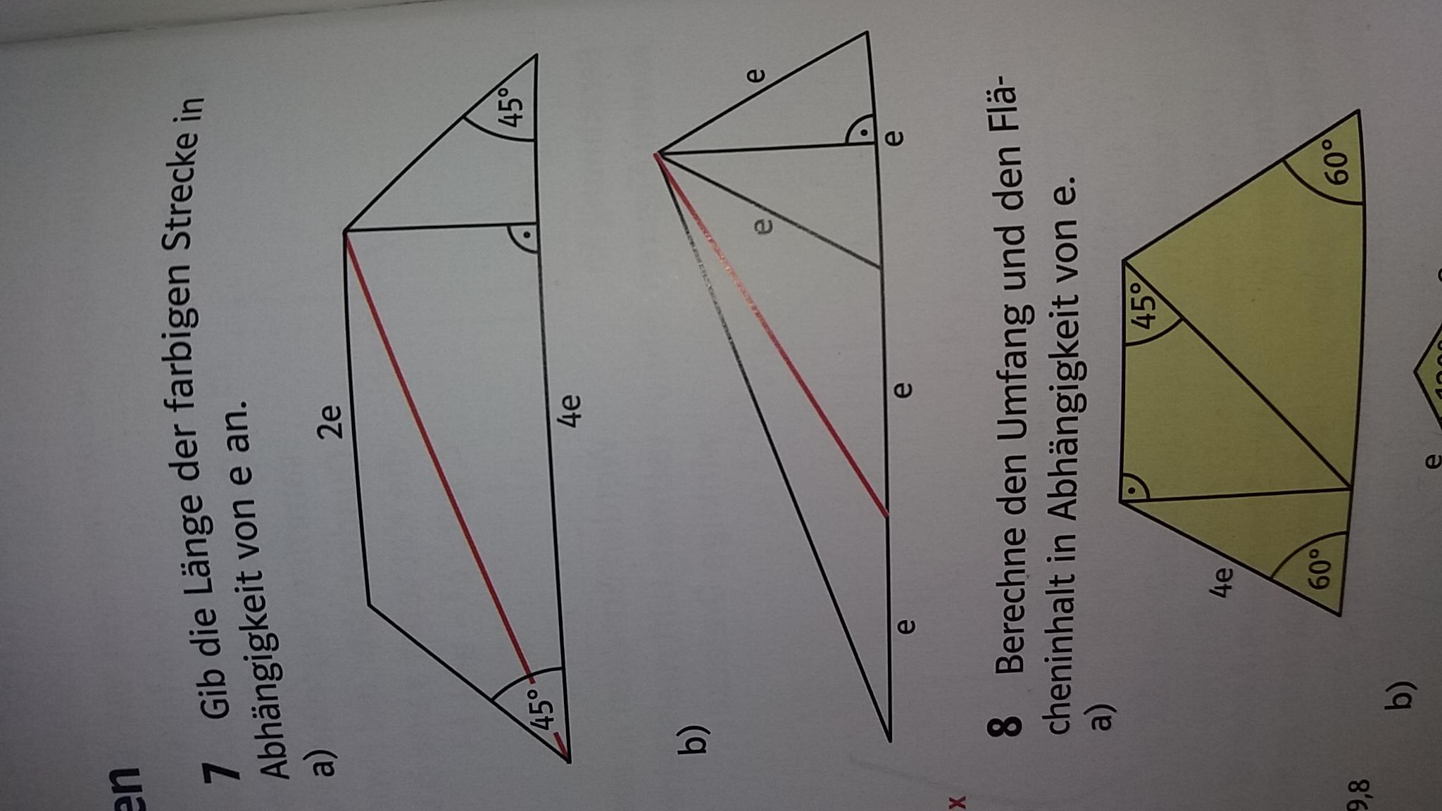 satz des pythagoras wie gehen die beiden aufgaben schule mathe lernen. Black Bedroom Furniture Sets. Home Design Ideas