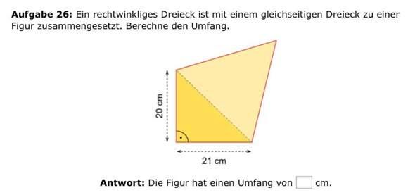 Satz des Pythagoras,gleichschenkliges Dreieck, nur Basis gegeben?