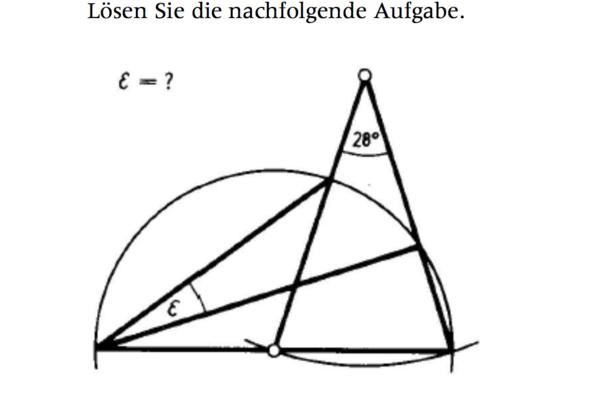 Aufgabe  - (Mathe, Geometrie)