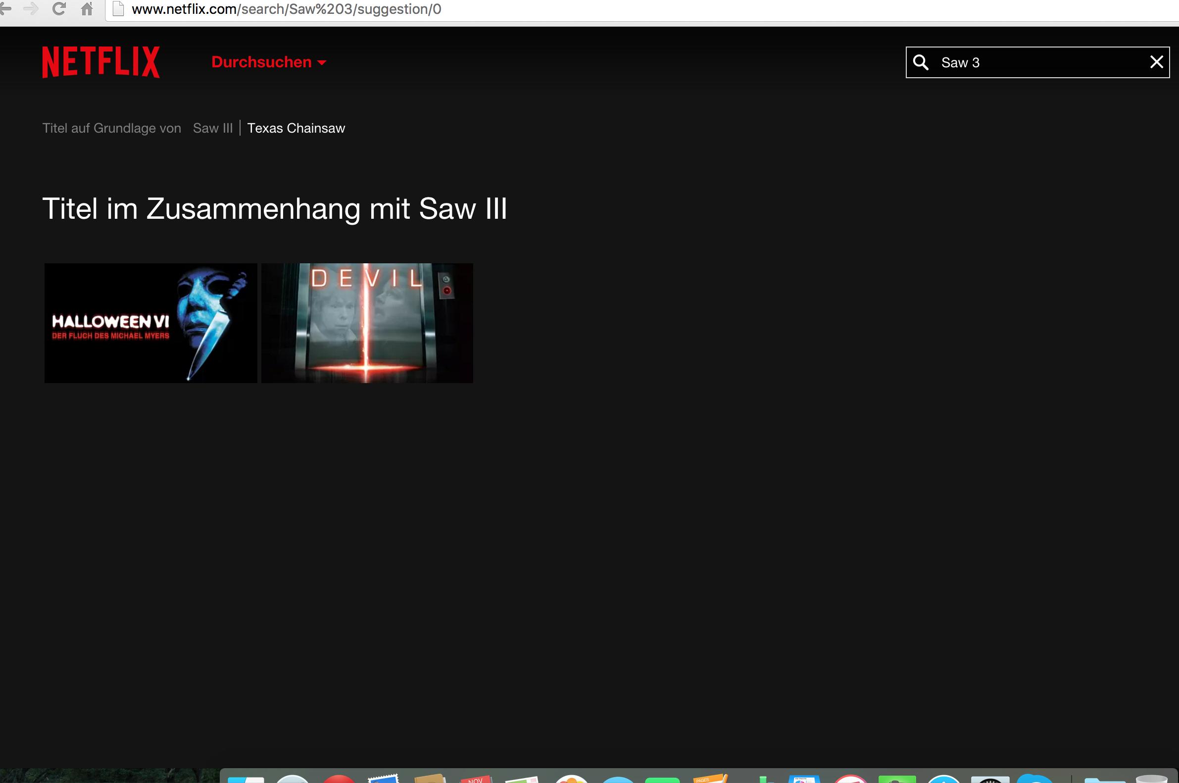 Saw Netflix