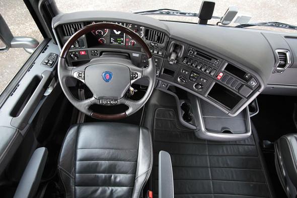 Innenraum ungefähr so  - (Simulator, Scania)