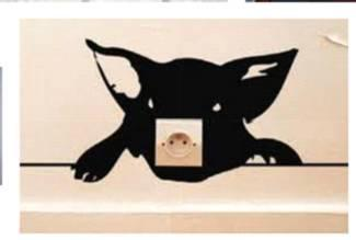 schablone f r wandtattoo zeichnen basteln malen. Black Bedroom Furniture Sets. Home Design Ideas