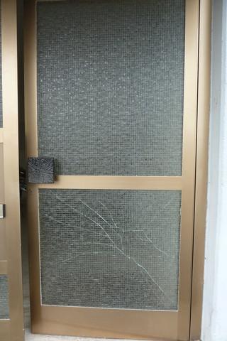 Komplette Haustüre - (Haus, Schaden, Glas)