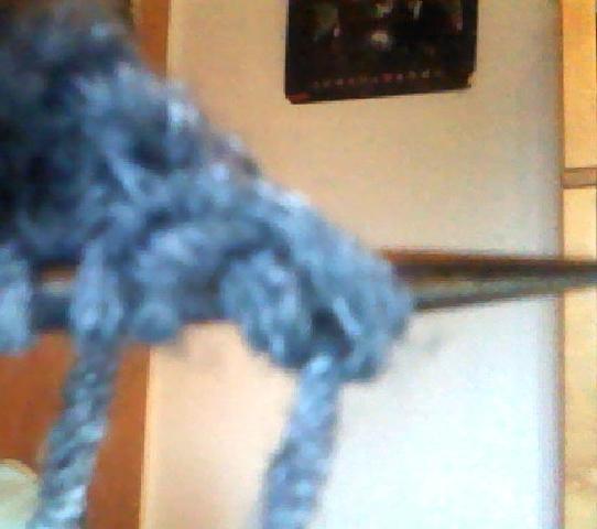 Anfangsmasche - (stricken, Schal)