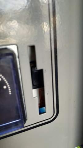 Schalter für Abgasverlustmessung?