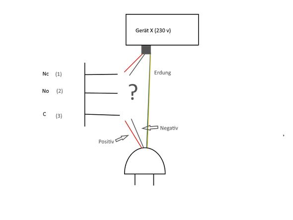 Schalter Wie verbinden (Runder schalter)? (Elektronik, Elektrik)