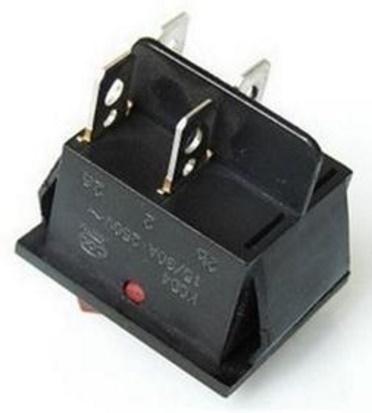 schaltet ein 4 poliger beleuchteter wippschalter 2 stromkreise elektronik elektrik. Black Bedroom Furniture Sets. Home Design Ideas