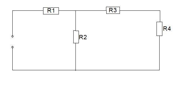 Berechnung des Gesamtwiderstandes - (Technik, Physik)