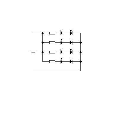 Schaltplan für LED Beleuchtung (Elektrik, Elektrotechnik)