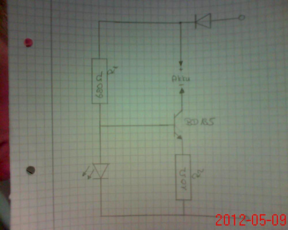 Schaltplan Ladegerät (Elektronik, Elektrik, Elektrotechnik)