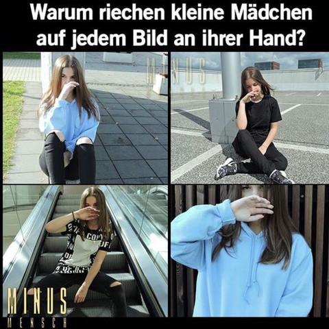 Und dann noch diese Billigen Bild Posen - (Deutschland, Jugend, Make-Up)