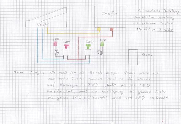 schematische darstellung einer weichen schaltung mit. Black Bedroom Furniture Sets. Home Design Ideas