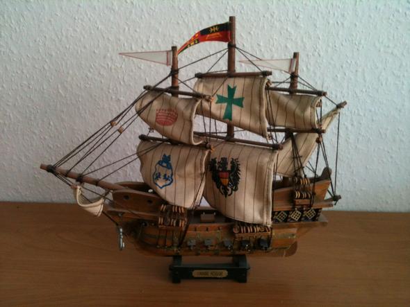 schiff 2 - (Holz, Modellbau, Schiffsmodell)