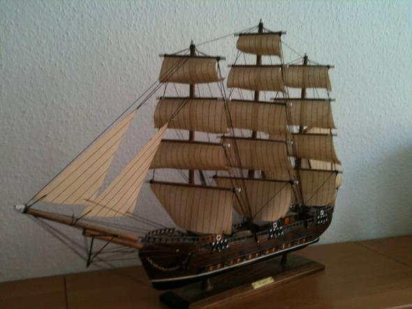 schiff 3 - (Holz, Modellbau, Schiffsmodell)