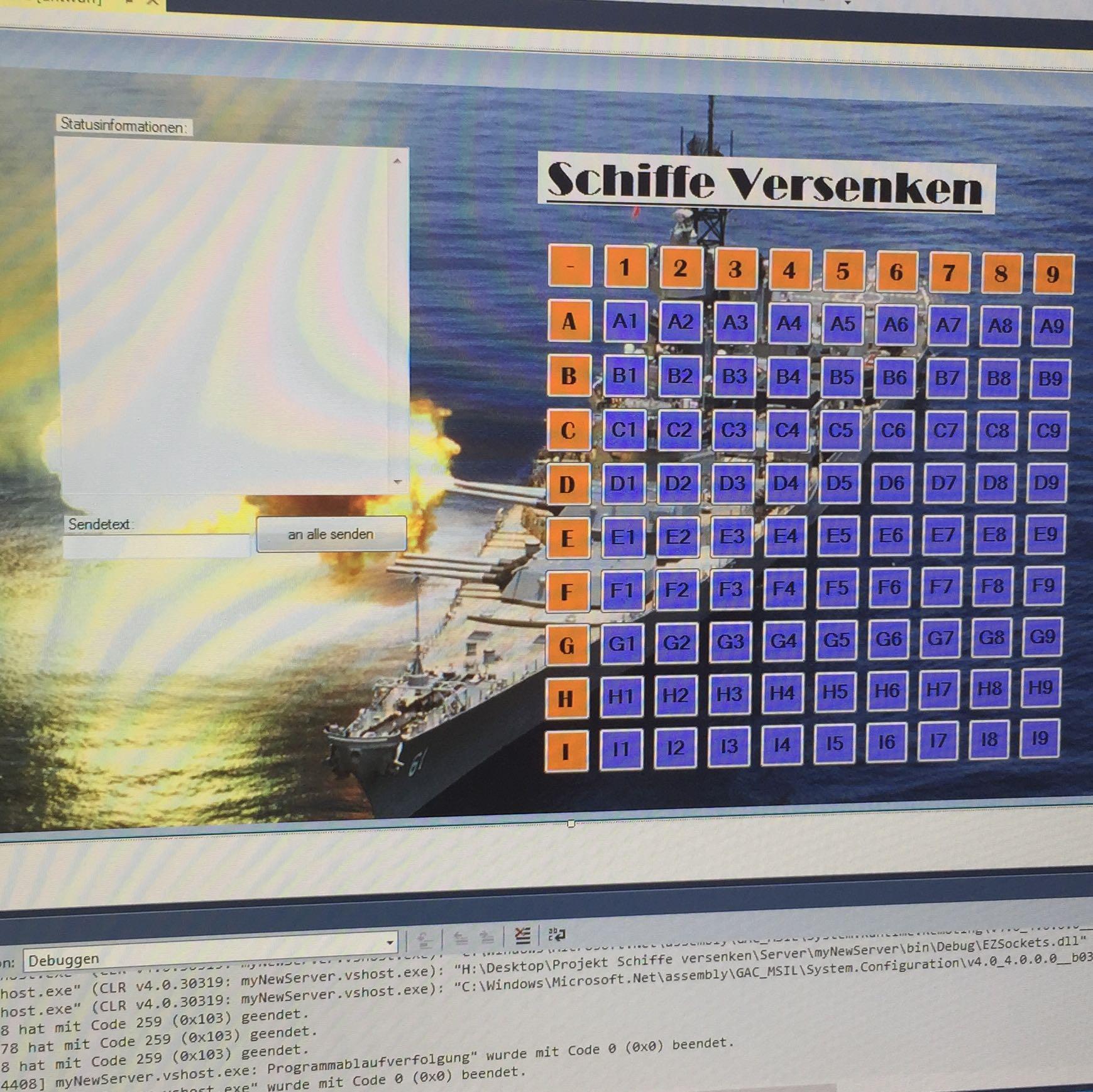 Schiffe Versenken Programmieren