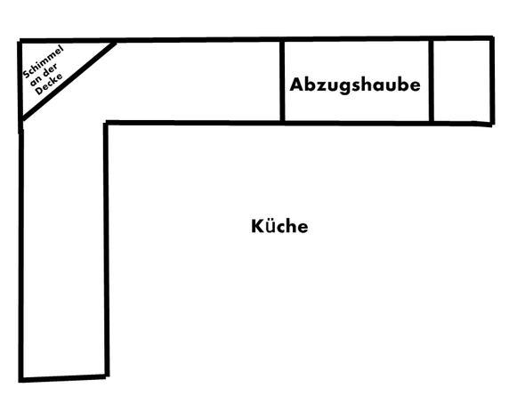 schimmel in der k che durchs kochen wohnung. Black Bedroom Furniture Sets. Home Design Ideas