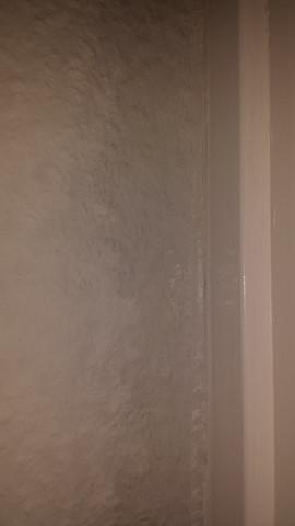 sichtbare Feuchtigkeit an der Wand - (Mietrecht, Schimmel, Wand)