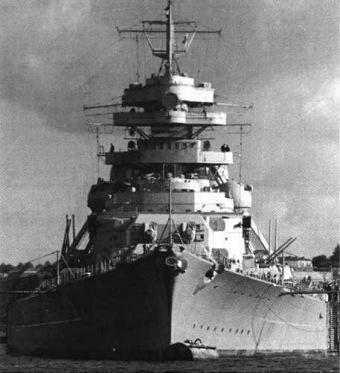 Die Bismarck - (Schiff, 2.Weltkrieg)