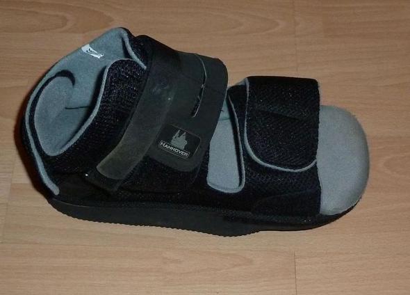 so sieht der Schuh aus ...  - (Gesundheit, Schmerzen, Schuhe)