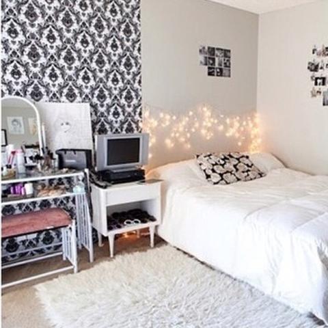 Beispiel Zimmer Mustertapete   (Zimmer, Tumblr, Tapete)