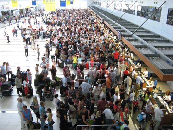 Schlimmster Flughafen?
