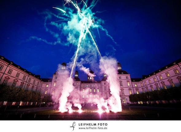 Feuerwerk Schloss Bensberg - (Hotel, Hochzeit, Köln)