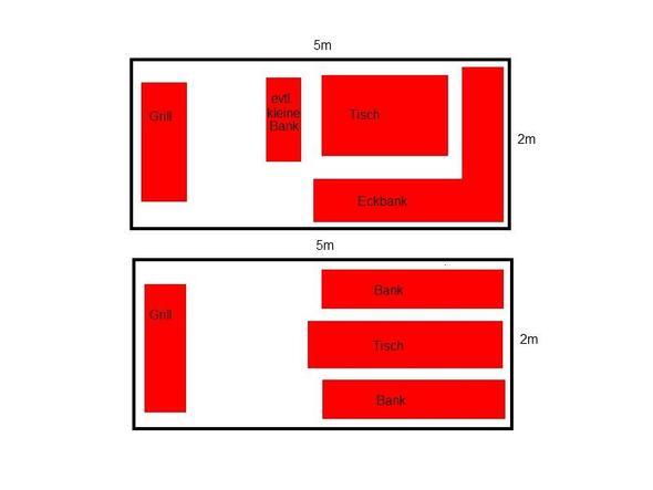 schmaler balkon sitzgelegenheiten f r 6 8 personen kaufen m bel selber machen. Black Bedroom Furniture Sets. Home Design Ideas