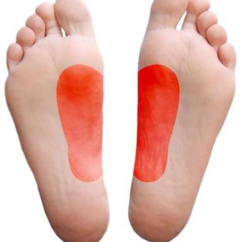 Rot = Schmerz  - (Arzt, Schmerzen, Füße)