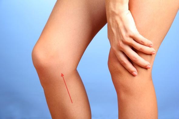 Schmerzen Knie - Position - (Sport, Arzt, Schmerzen)