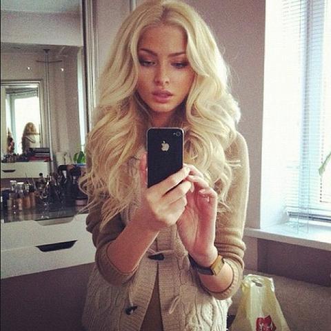 das ist sie  - (Mädchen, Haare, Beauty)