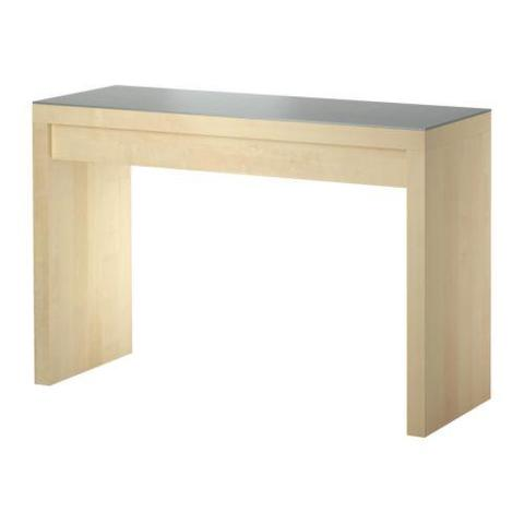 schminktisch malm schminke ikea ahornholz. Black Bedroom Furniture Sets. Home Design Ideas