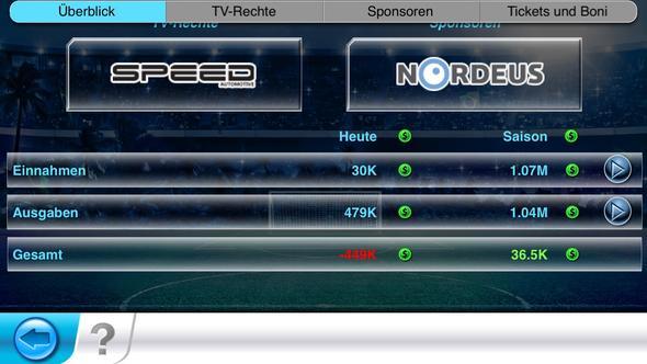 Finanzen - (Spiele, Geld, Fußball)