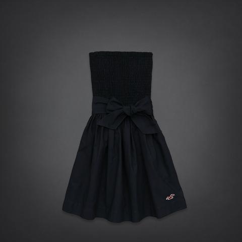 Hollister kleid schwarz spitze