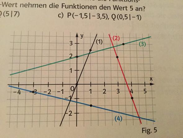 Fig. 5 ^ - (Mathematik, bestimmen, Schnittpunkt)