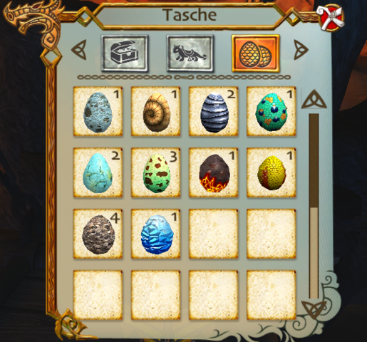 Zu Viele Eier - (Computer, Games, School of dragons)