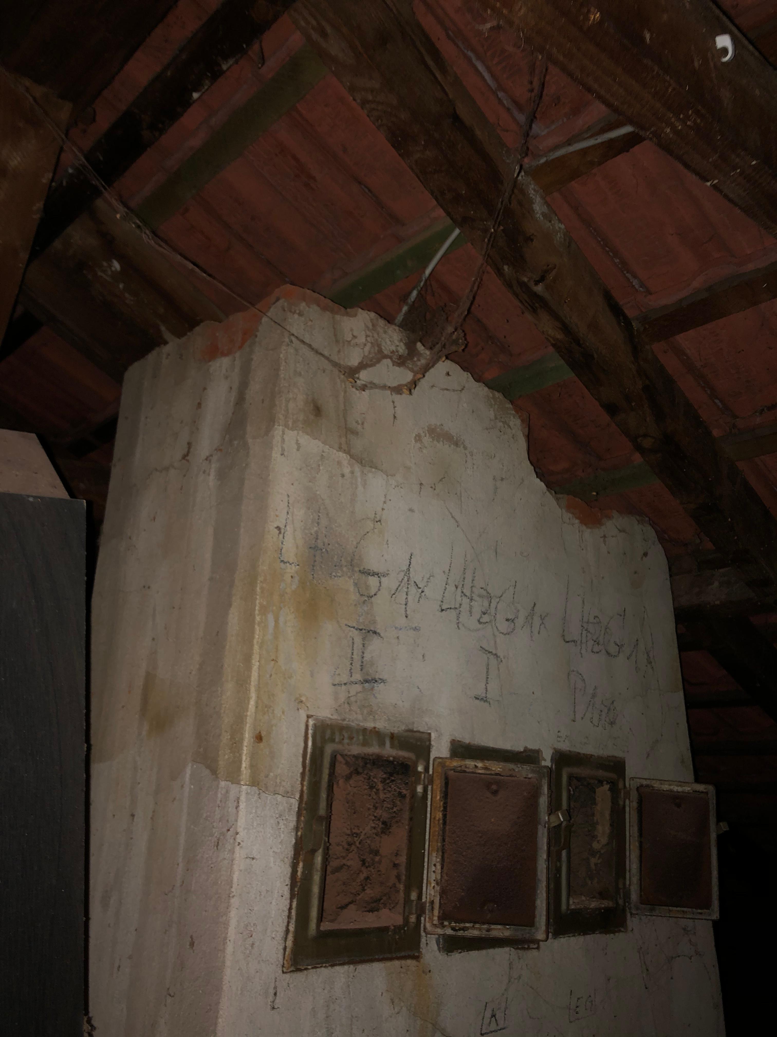 Schornstein Abreissen Haus Bauen Hilfestellung