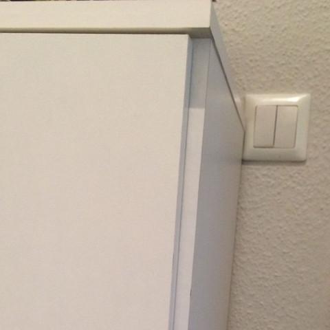 Schranktur Zu Weit Links Mobel Ikea Baumarkt