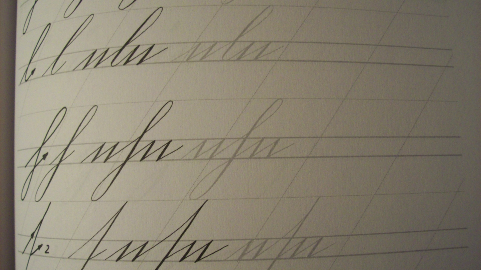 Schreibschrift Schreibvorlage (siehe Bild) (Kalligrafie) (Schreiben ...