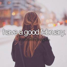 Have a good February! An alle ;* - (Mädchen, Bilder, instagram)