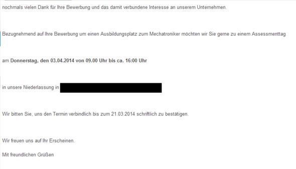 E-Mail - (Ausbildung, E-Mail, Brief)