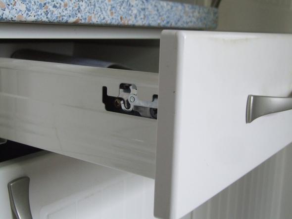 Schublade  b) - (Küche, Möbel, schublade)