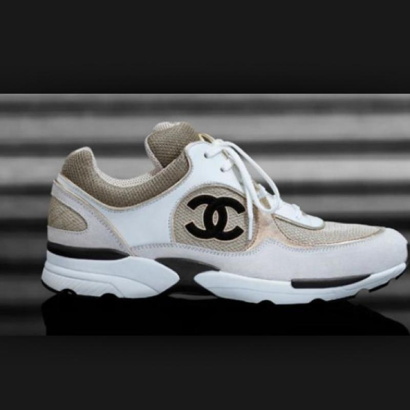schuhe chanel mode sneaker shoes
