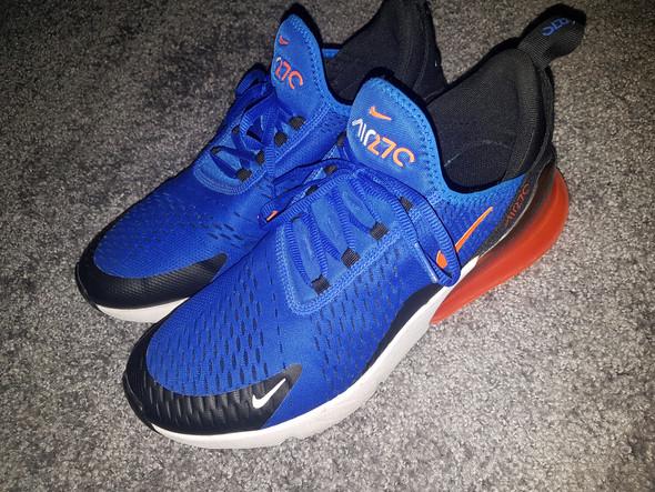 Schuhe einfärben air max 270? (Farbe, Nike, Färben)