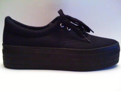 Schuhe mit breiter mit Schuhe mit breiter Schuhe SohleModeshoppenschwarz SohleModeshoppenschwarz 8wZOnXNPk0