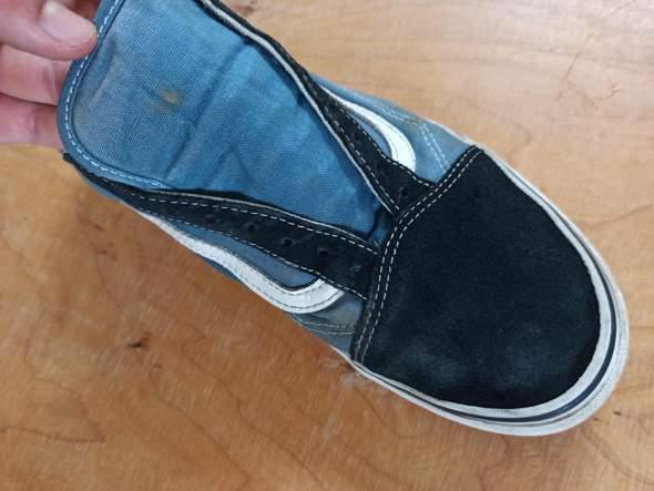 Schuhe mit Rauhleder säubern?
