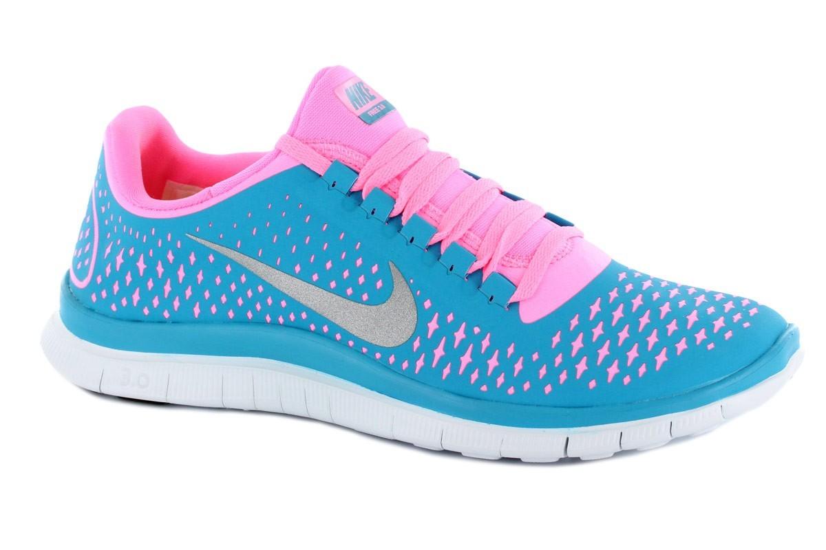 Nike Free 3.0 Damen Blau