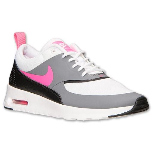 Nike Air Max Thea Damen Rot Grau
