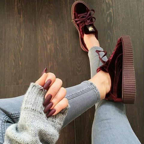 - (Schuhe, rot, Puma)