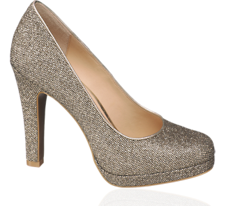 Goldene Schuhe - (Internet, Beauty, Frauen)