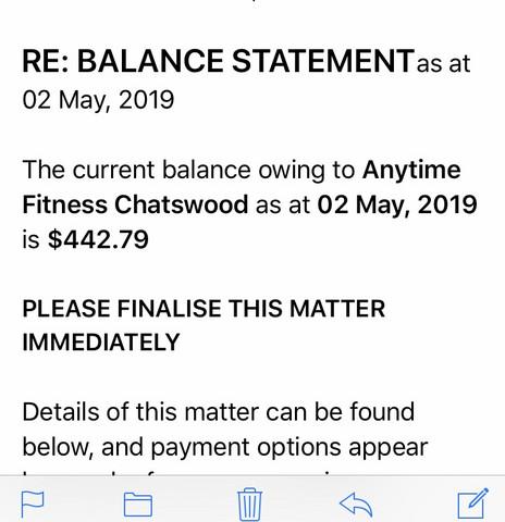 Schulden In Australien E Mail Von Inkasso